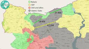 Syria Situation Map by Iuca Iucanalysts Twitter