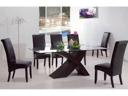 modern dining room table and chairs modern dining table glass the holland nice warm and cozy modern