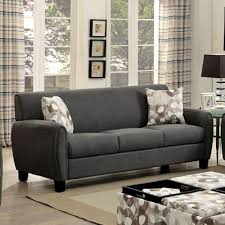 liana transitional sofa gray