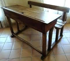 bureau ecolier bureau d accolier ancien en bois bureau ancien ecolier photos