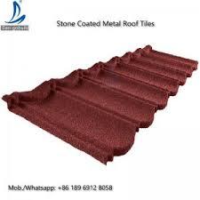 Lightweight Roof Tiles German Lightweight Chips Coated Type Steel Roofing Metal