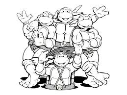 1000 images ninja turtles coloring pages