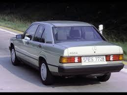 1993 Mercedes Coupe 1982 1993 Mercedes Benz W 201 Series 1982 190 E Rear Angle