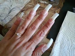 diy acrylic nails being manically me
