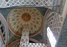 Decorated Ceiling Imagining The Lives Of The Harem Women At Istanbul U0027s Topkapi