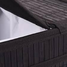 grey laundry hamper rectangular bamboo laundry hamper basket with lid laundry
