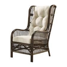rattan u0026 wicker wingback accent chairs you u0027ll love wayfair
