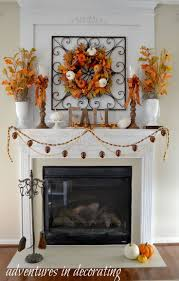 best 25 autumn mantel ideas on fall mantle decor