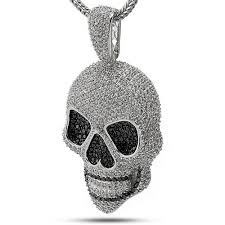 custom pendant king custom skull bling pendant kingice