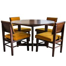 frank lloyd wright for henredon dining table with chairs at 1stdibs