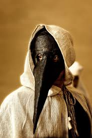 plague doctor masquerade mask plague mask in the middle ages volterra tuscany italy the