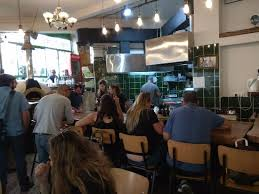 a small part of the restaurant picture of ishtabach jerusalem