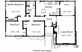 marvelous download simple three bedroom house plans home intercine
