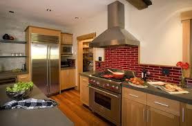 kitchen with brick backsplash pictures of brick backsplash in kitchen bartarin site