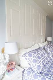 bed headboards diy how to make a bed headboard with old doors in my own style