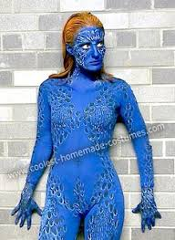 Mystique Halloween Costume Diy Mystique Men Costume Liquid Latex