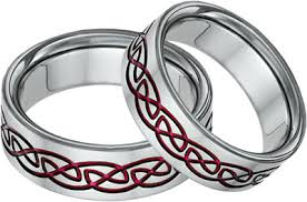 titanium celtic wedding bands titanium celtic wedding band ring