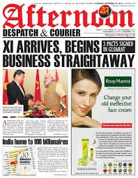 18 sept 2014a by afternoon despatch u0026 courier issuu