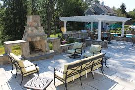 Outdoor Living Space Plans by Outdoor Living Spaces Sponzilli Landscape Group