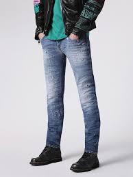 Skinny White Jeans Mens Mens Skinny Denim Diesel Online Store