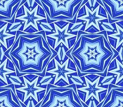 blue kaleidoscope wallpaper kaleidoscope blue star flower background stock vector illustration
