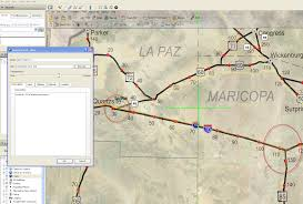 Map Of Arizona Highways by Mile Markers For Arizona Department Of Transportation Gps Insight