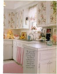 Kitchen Cabinet Curtains Shabby Chic Kitchen Curtains