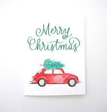 volkswagen christmas volkswagen beetle merry christmas card vw bug christmas tree