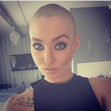 very beautiful headshave girls headshave instagram photos and videos buzzed pinterest bald