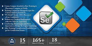 selenium training in noida selenium training institute in noida