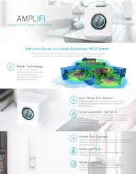 Home Wifi System by Active Electronics Amplifi Wi Fi