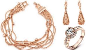 rose gold fashion bracelet images Eye rose gold jewelry collection for new year jpg