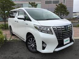 2015 toyota alphard hybrid executive lounge used car for sale at