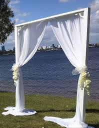wedding arches perth party arch rental perth event and wedding hire