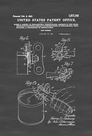 can opener patent print decor kitchen decor restaurant decor