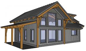 small a frame cabin plans small timber frame house plans design cabin with loft modern 16 best