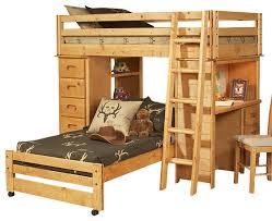 bedroom nice junior white twin loft bed with desk step ladder