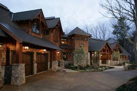 mountainside house plans mountain house design luxury plans rustic mountainside traintoball