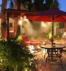 Patio Misting Kits Outdoor Cooling U0026 Patio Misting System Mist Cooling U0026 Humidity