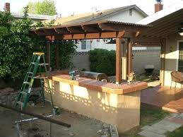 backyard bbq bar designs backyard bbq kitchens these diy outdoor kitchen plans turn your