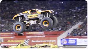 how long does monster truck jam last epic monster truck freestyle how to destroy a truck youtube