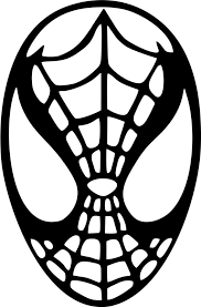spiderman head vinyl car window laptop decal sticker