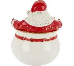 Spode Christmas Tree Santa Cookie Jar by Spode Christmas Tree 6