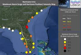 Map Of Southwest Fl Hurricane Hal U0027s Storm Surge Blog September 2017