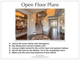 how to choose color of kitchen floor how to choose color for open floor plans decorating by