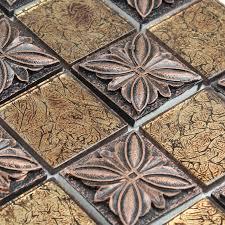 tile sheets for kitchen backsplash mosaic tile sheets embossed patterns resin t1265 brick tile
