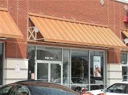 Industrial Awning Applying Metal Awnings Above The Window Kristenkingfreelancing Com
