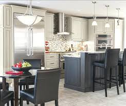light gray stained kitchen cabinets light gray kitchen cabinets dark island stained kitchen