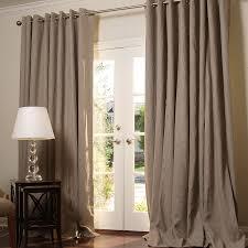20 Ft Curtains Custom Linen Drapes Drapestyle Grommet Curtains Emery Linencotton