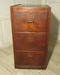 a large art deco 3 drawer oak filing cabinet 252511